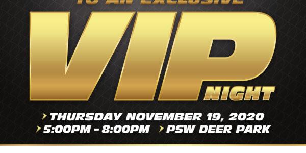 PSW VIP Night